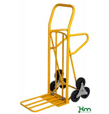Karren gelb bis 200 kg Vollgummiräder 160 x 30 mm 870x510x1225mm KM107