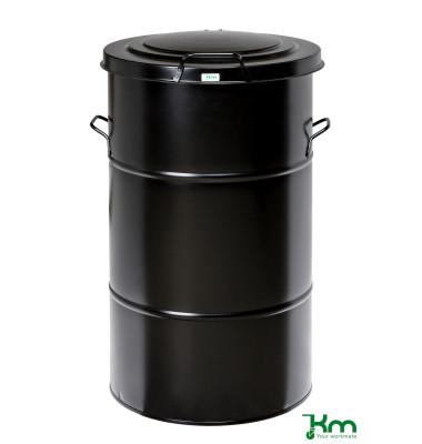 Müllsackständer schwarz bis  kg  490x490x805mm KM115SF
