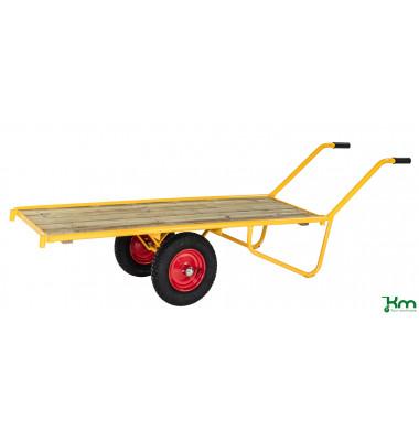 Schwerlastwagen gelb bis 500 kg 2 Bockrollen 2326x615x775mm KM129