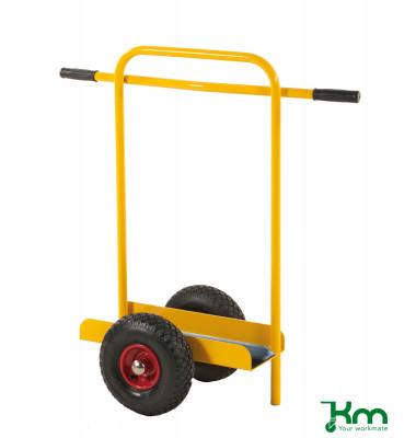 Plattenwagen gelb bis 200 kg Luftbereift 260 mm 800x380x900mm KM142652
