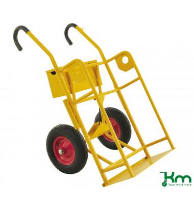 Karren gelb bis 250 kg 2 Bockrollen 750x1160x1170mm KM145860