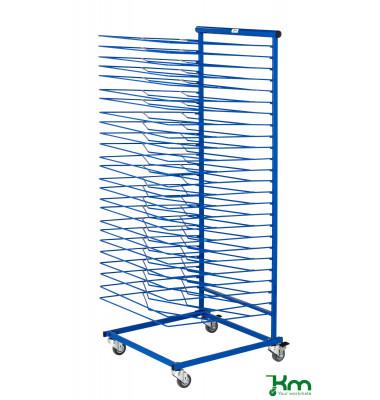 Trockenwagen blau bis 10 kg  460x500x1200mm KM152974