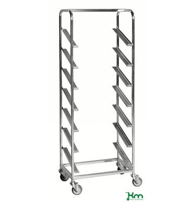 Roll- und Kistenwagen verzinkt bis 150 kg 4 Lenkrollen 660x410x1850mm KM166