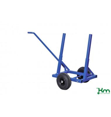 Plattenwagen blau bis 200 kg Luftbereift 260 mm 1600x600x800mm KM213