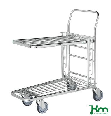 Gitterwagen verzinkt bis 300 kg 4 Lenkrollen 890x520x1000mm KM4202-E3