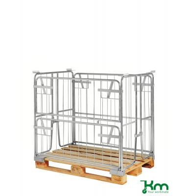 Palettenrahmen & Palettencontainer verzinkt bis  kg  1200x800x1000mm KM901000