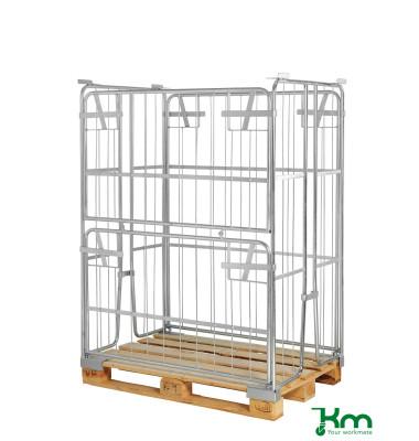 Palettenrahmen & Palettencontainer verzinkt bis  kg  1200x800x1500mm KM901500
