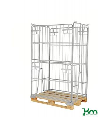Palettenrahmen & Palettencontainer verzinkt bis  kg  1200x800x1800mm KM901800