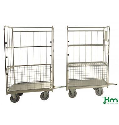 Konga Moving System  bis  kg 2 Bockrollen 2 Lenkrollen 561x510xmm KMKPH-109