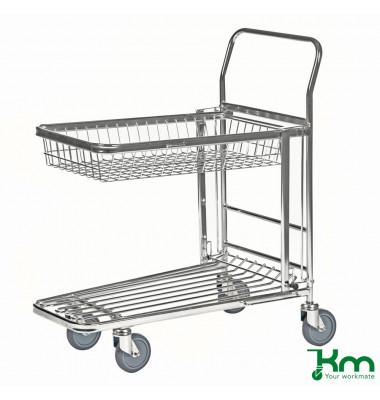 C+C Wagen klappbar Stahl verzinkt Traglast (max.): 300 kg   13-1660