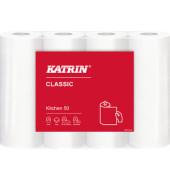 Küchenrollen 47819 Classic Kitchen50 2-lagig weiß 4 Rollen à 50 Blatt