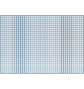 Karteikarten A5 190g kariert blau 100 Stück