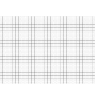 Karteikarten A6 190g kariert weiß 100 Stück