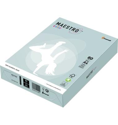 Multifunktionspapier Color Pastell DIN A4 80g/m² blau 500 Bl./Pack.