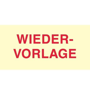Haftnotiz 70 x 35 mm (B x H) Wiedervorlage gelb 50 Bl./Block 3 Block/Pack.