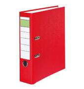 Ordner 80mm DIN A4 Werkstoff: Pappe Material der Kaschierung außen: Polypropylen Material der Kaschierung innen: Papier rot