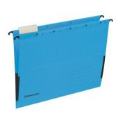 Hängetasche DIN A4 220g/m² Recyclingkarton blau 25 St./Pack.