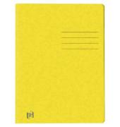 Schnellhefter TOP FILE+ DIN A4 390g/m² Colorspankarton gelb