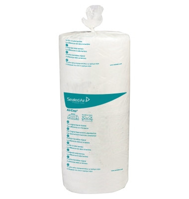 Luftpolsterfolie 50 cm x 150 m (B x L) Polyethylen, recycelbar transparent