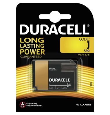 Batterie J 4LR61 Alkaline 6V 500 mAh