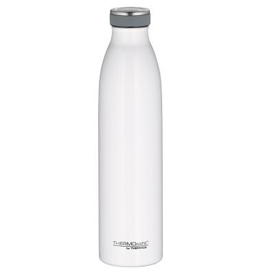 THERMOS Trinkflasche TC 0,75l doppelwandig ausgeführt Edelstahl weiß