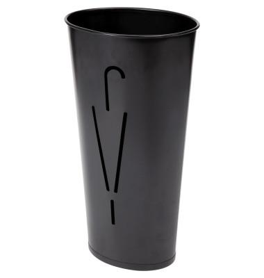 Schirmständer Ellipse 23,5 x 60 cm (Ø x H) Stahlblech, pulverbeschichtet schwarz