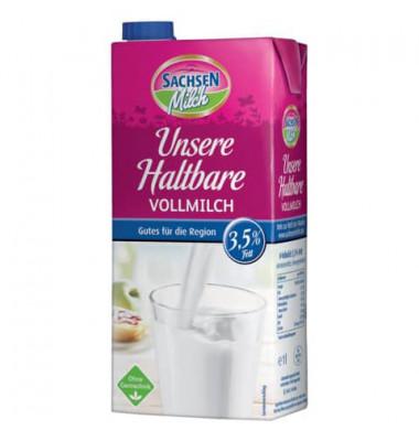 H-Milch 1 Liter 3,5% Fett 12x Packungen