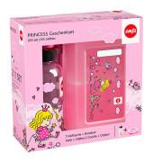 Kinder Trinkflasche & Lunchbox Prinzessin