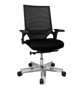 Bürodrehstuhl T 300 Objekt schwarz inkl. AL