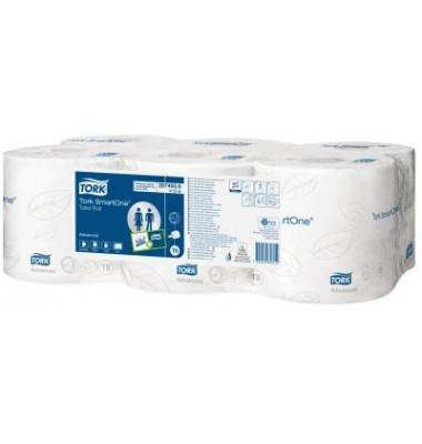 Toilettenpapier Jumbo SmartOne 472242 T8 2-lagig 6 Rollen