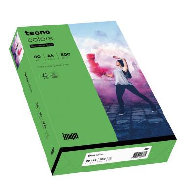 colors Kopierpapier intensivgrün A4 80g 500 Blatt