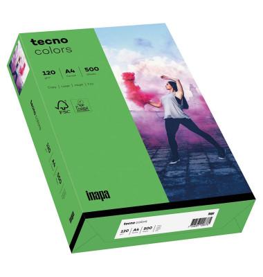 colors Kopierpapier intensivgrün A4 120g 250 Blatt