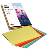 colors Kopierpapier Mixpack intensiv farbsortiert A4 80g 100 Blatt