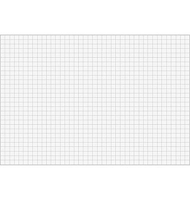 Karteikarten A8 190g kariert weiß 100 Stück