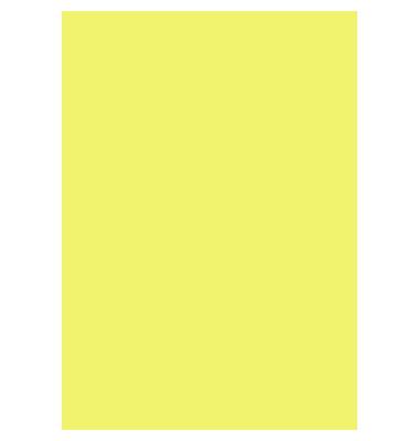Fotokarton 50x70cm zitronengelb 300g 25 Blatt