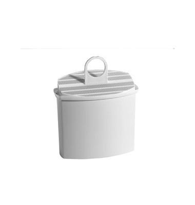 Wasserfilterkartusche, weiß