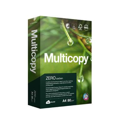 Multifunktionspapier Zero, A4, 80 g/m², TCF, weiß