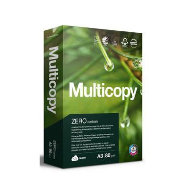 Multifunktionspapier Zero, A3, 80 g/m², TCF, weiß