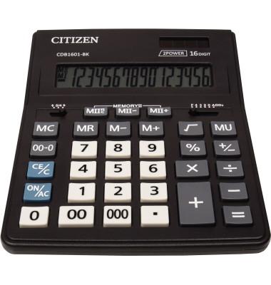 Tischrechner New Business Line CDB1601-BK schwarz