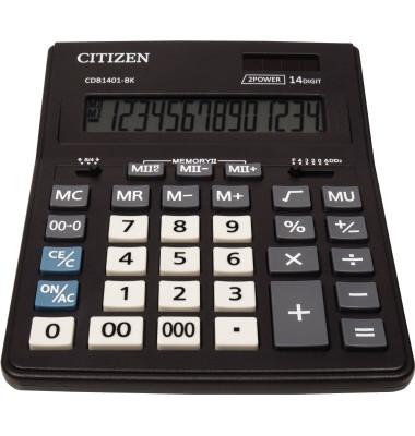 Tischrechner New Business Line CDB1401-BK schwarz