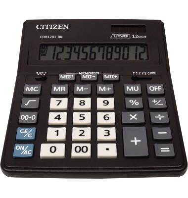 Tischrechner New Business Line CDB1201-BK schwarz