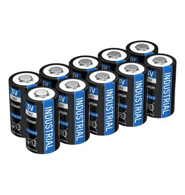 10 Batterie INDUSTRIAL Batterie 3,0 V