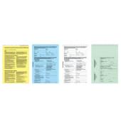 Kaufvertrag für gebrauchte KFZ A4 4 Blatt selbstdurchschreibend