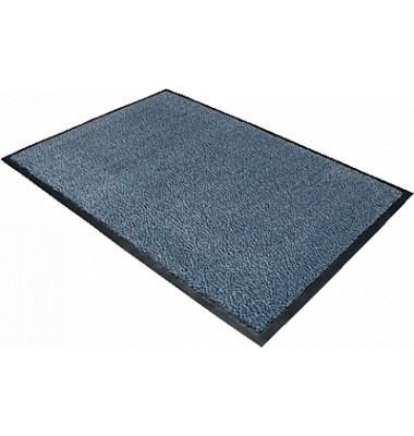 Schmutzfangmatte Doortex advantagemat 60x90cm schwarz/blau für Innenbereich