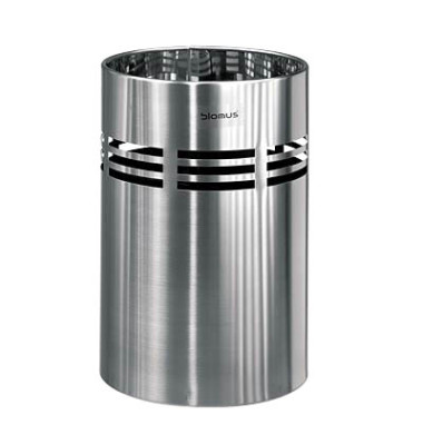 Papierkorb 65156 SLICE 18,5 Liter Edelstahl