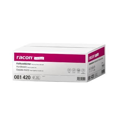 Papierhandtücher 081420 Racon Comfort ZZ-Zickzack 24 x 23 cm 2-lagig Tissue natur