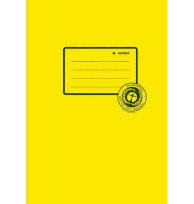 Heftschoner 5511 A5 Papier gelb