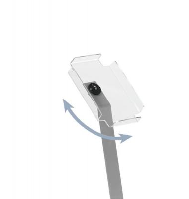 Prospektständer DISPLAY STAND A4 silber Höhe 105cm