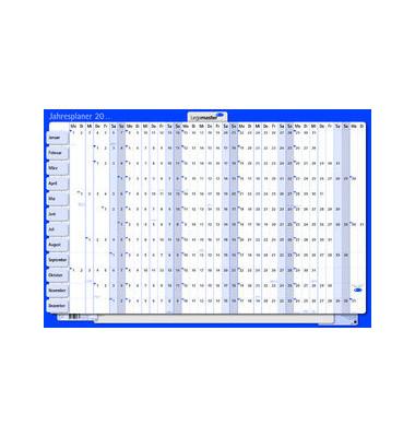 Plakatkalender 12Monate/1Seite 90x60cm 2022 Monate horizontal