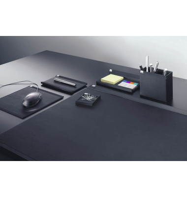 Schreibtischset cintano:S saphirschwarz 6-teilig